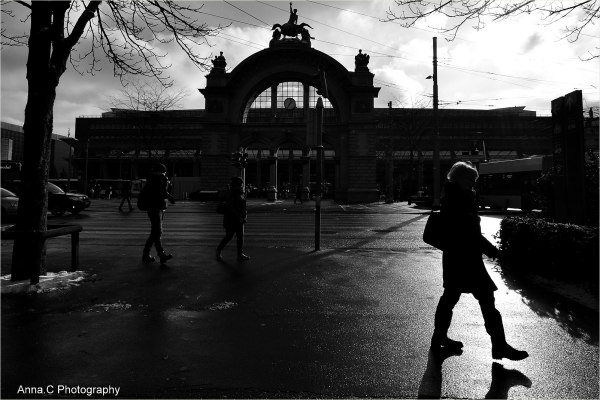 Lucerne #6   La gare