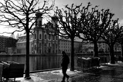 Lucerne #9   Promenade solitaire