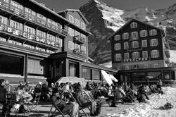 Profiter de la belle vue des Alpes
