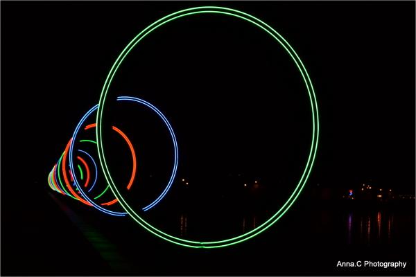 Les anneaux lumineux