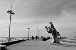 Le skater de l'esplanade des mouettes