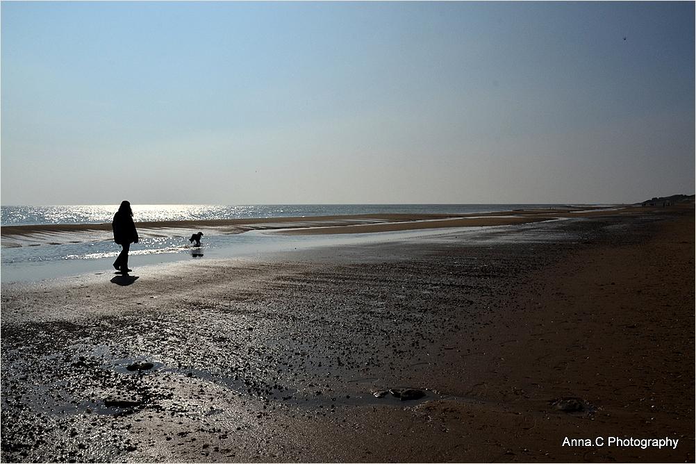 Promenade avec son chien