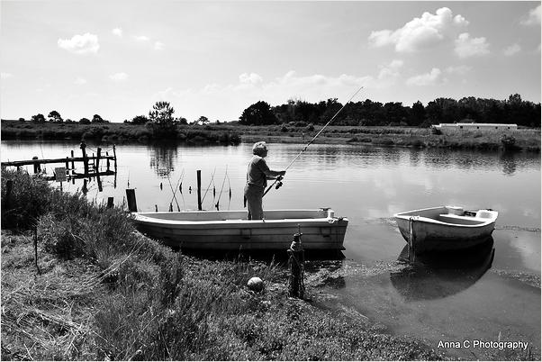 La tranquilité du pêcheur