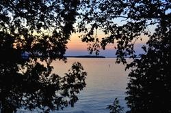 The lake at dusk #1