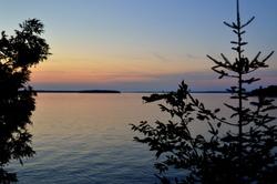 The lake at dusk #2