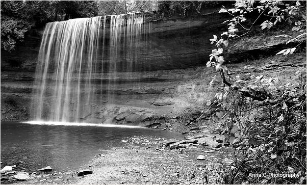 The Bridal Veil Falls