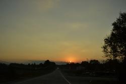 La nuit au bout de la route
