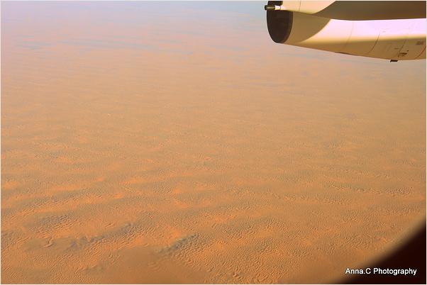 Au dessus du désert