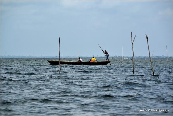 La traversée du Lac Togo
