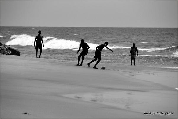 La partie de foot