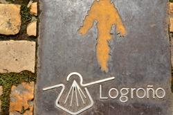 Logroño sur le chemin de Compostelle