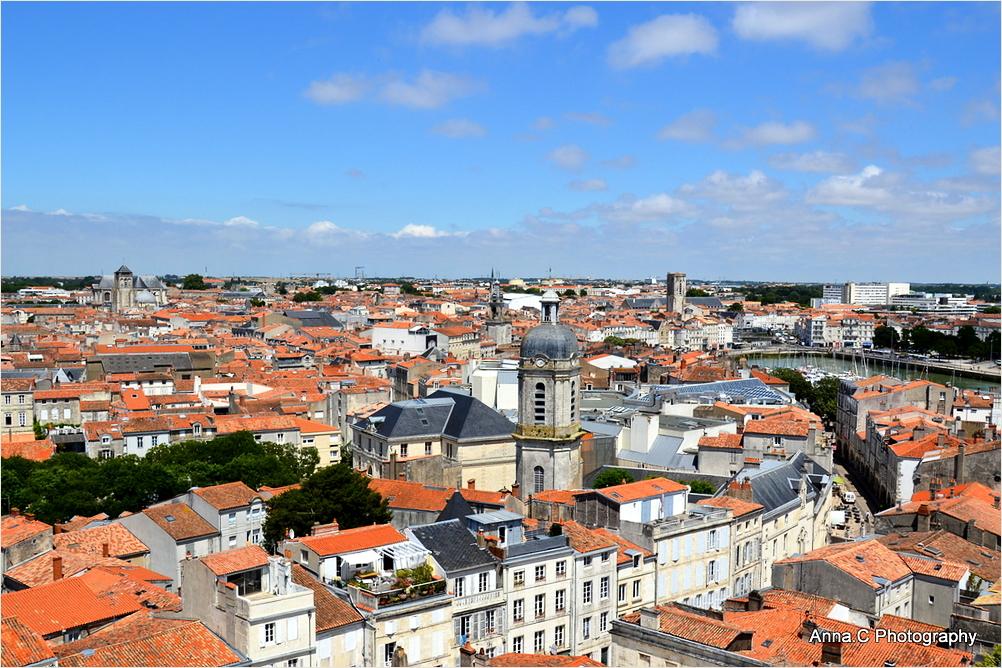 Les toits de La Rochelle