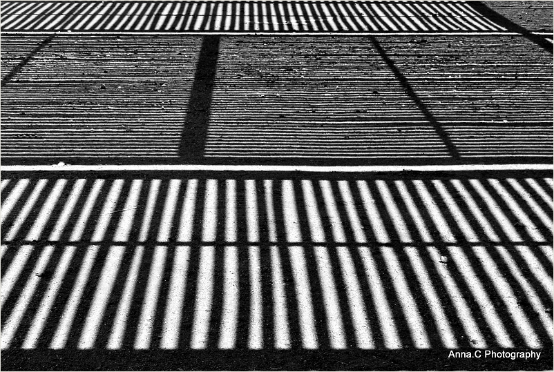 Lines on the ground