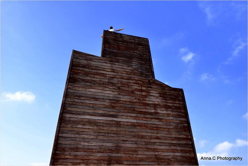 Selfie sur la Tour de Babel