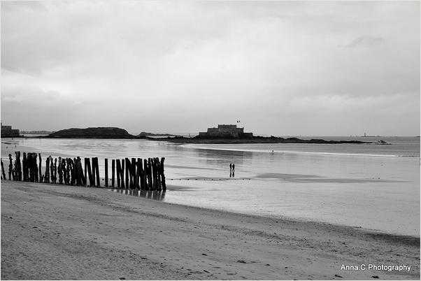Jour gris à Saint Malo