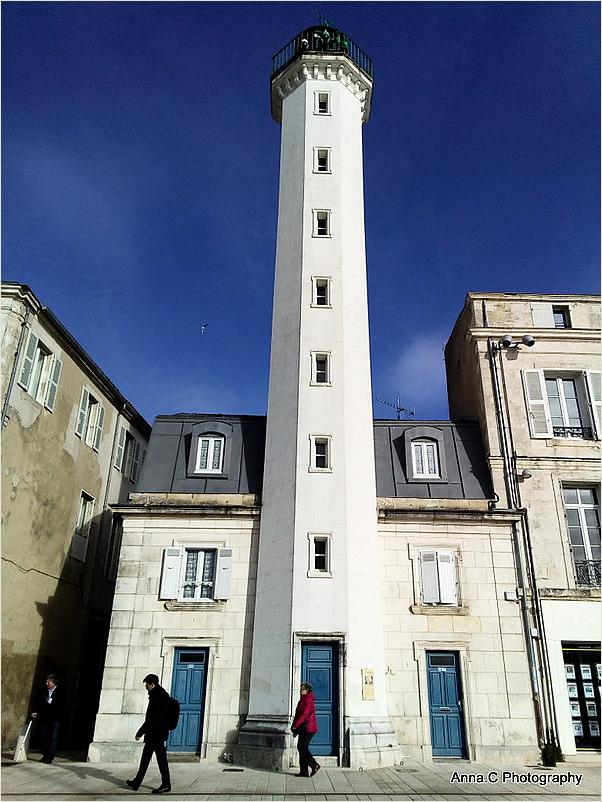 Un phare en ville