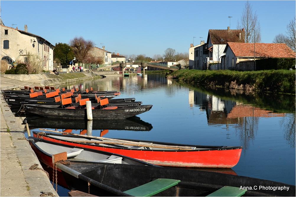 Les barques de Coulon