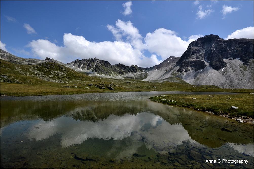 Les reflets de la montagne