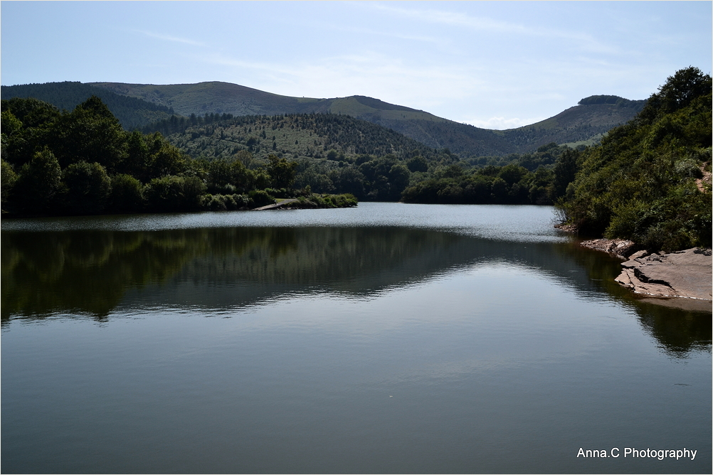 Les reflets du lac d'Ibardin #2