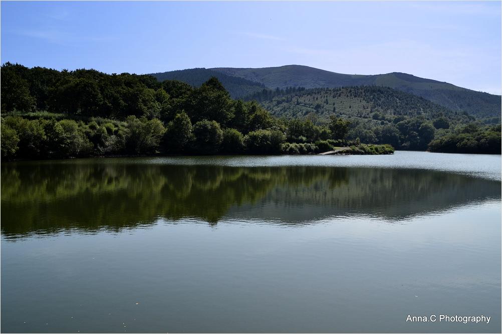 Les reflets du lac d