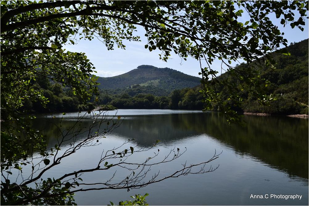 Les reflets du lac d'Ibardin #1