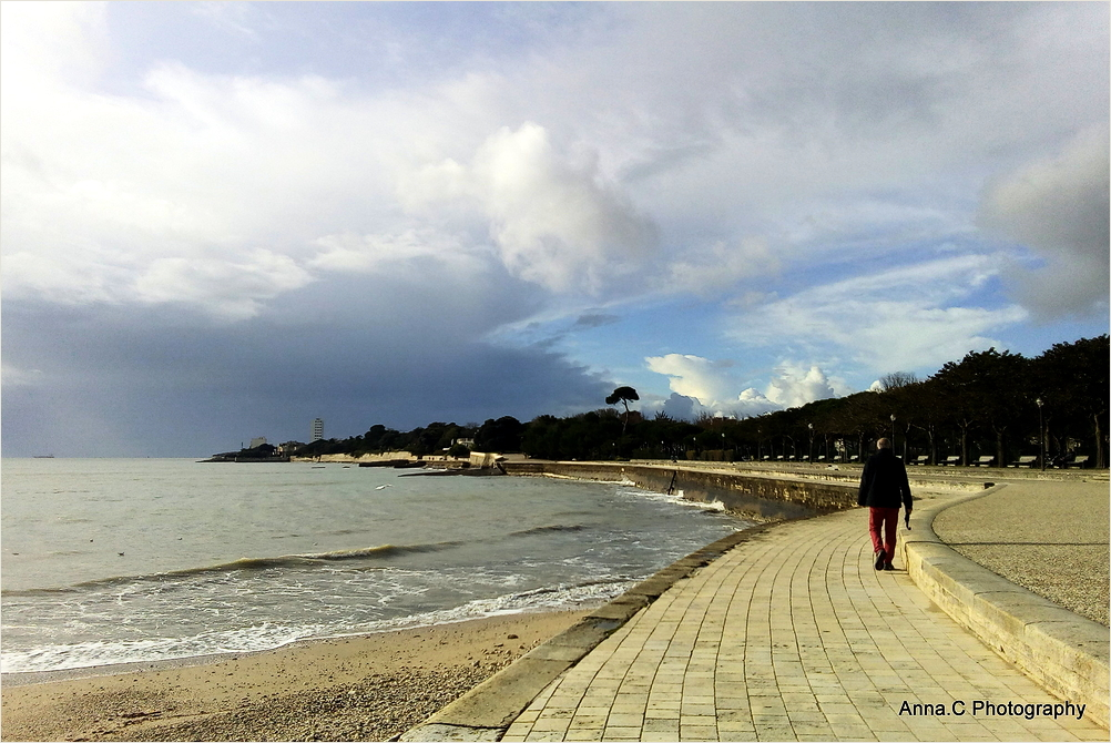 Promenade avant la pluie