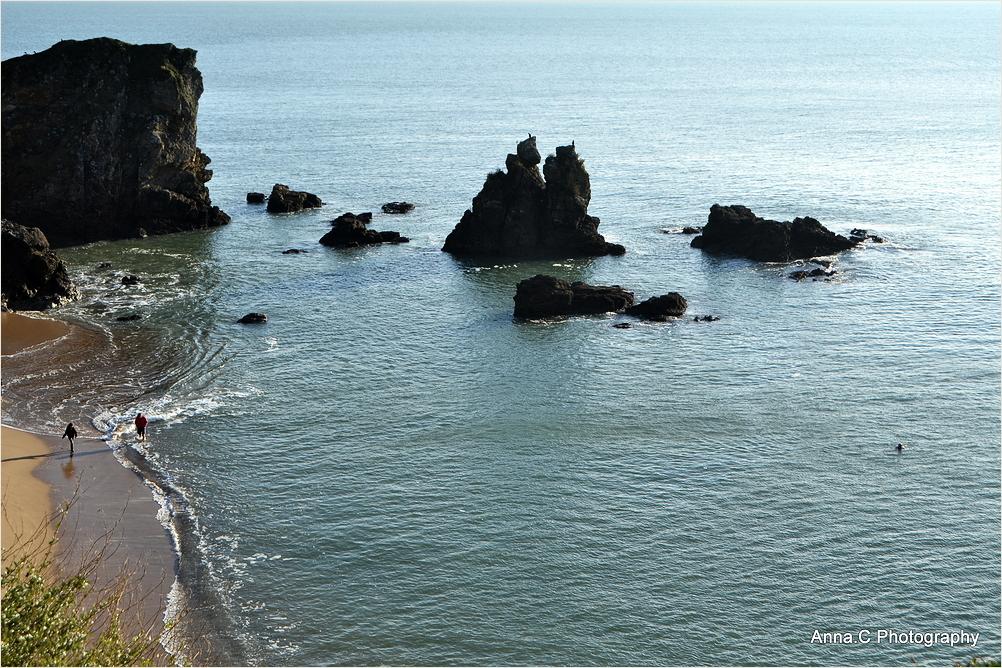 Bains de mer