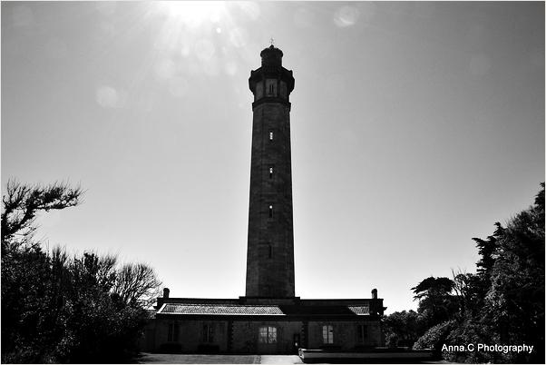 La silhouette du phare