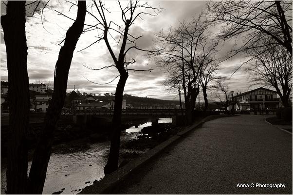 Pays-Basque en hiver