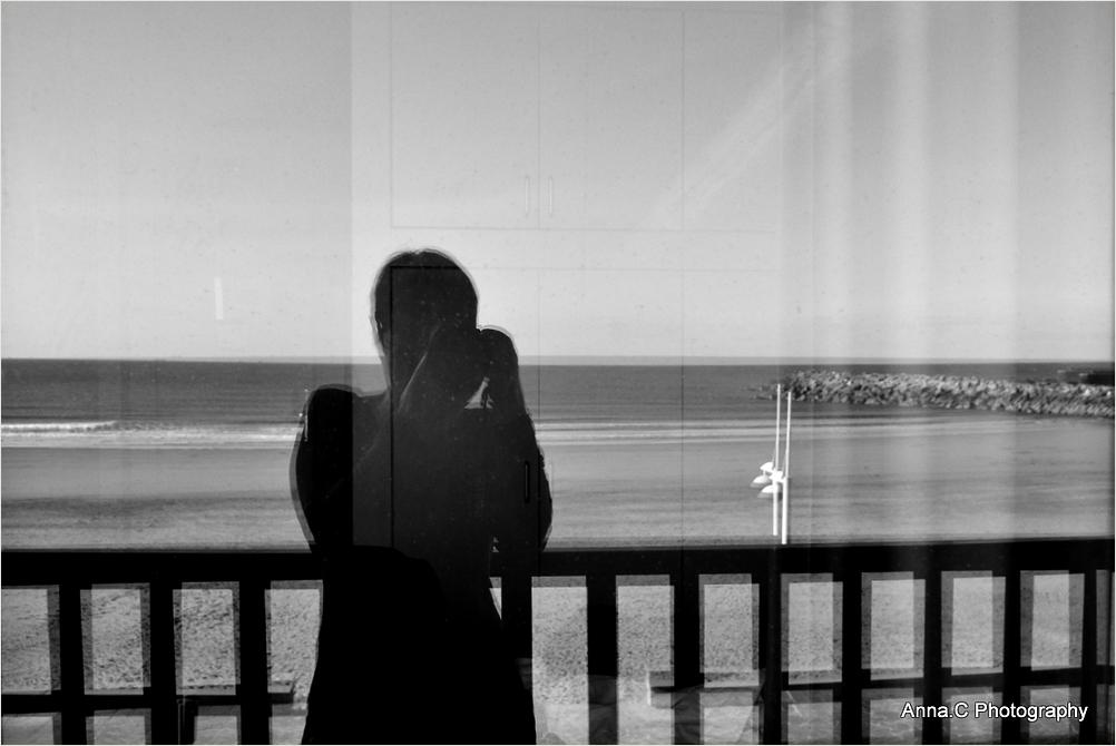 Autoportrait à la fenêtre