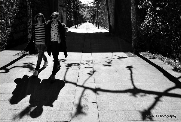walk on my shadow