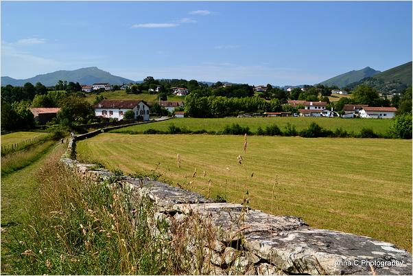 La campagne basque