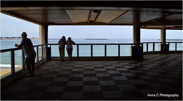 Contempler l'océan