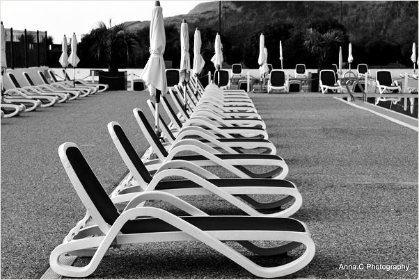 Les chaises longues