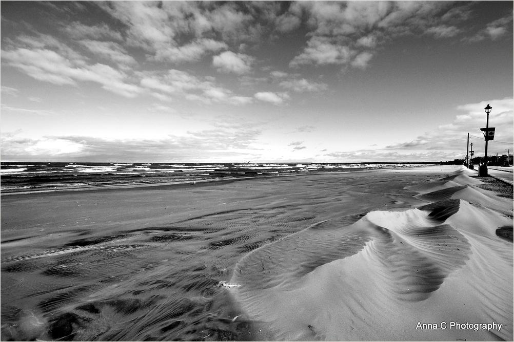 Dunes on the beach