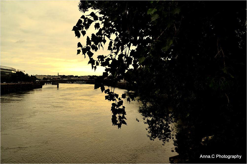 Sunset sur La Loire