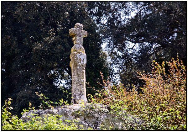 Barranc d'Algendar, sa creu