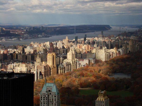 Central Park, light, travel, autumn