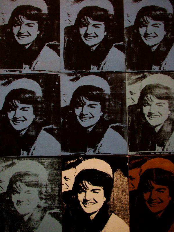 Jackie O, Andy Warhol,