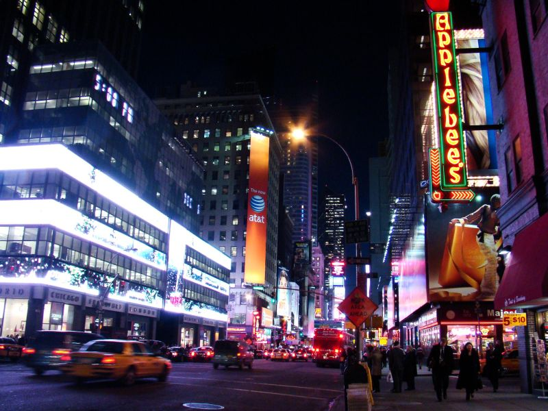 Times Square, New York, Night