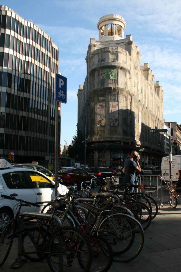 Barcelona, building architecture