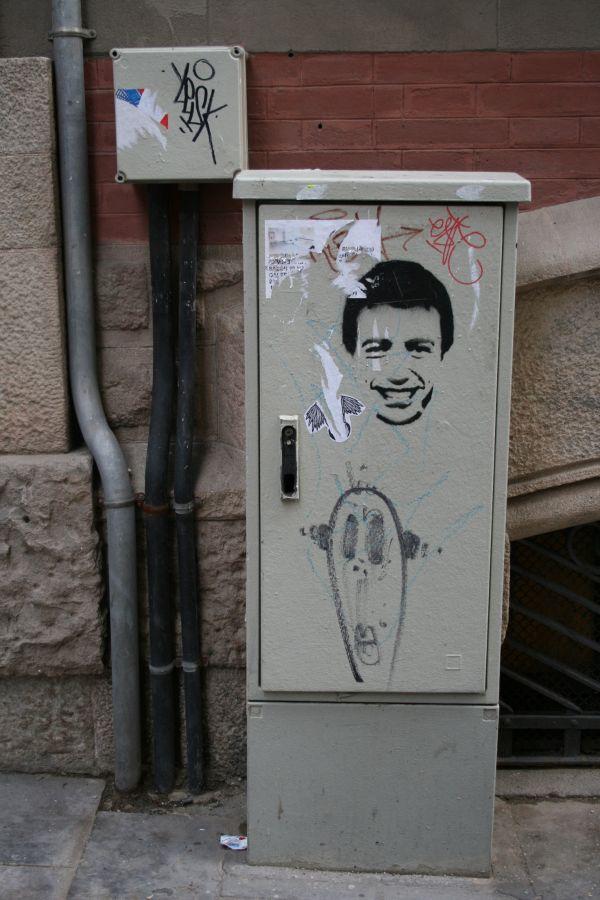 Barcelona, Graffiti