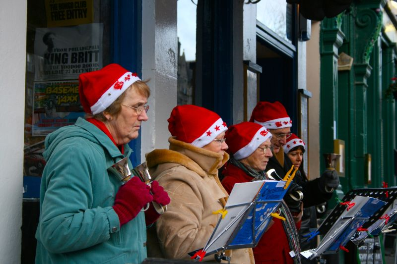 Carols in Edinburgh