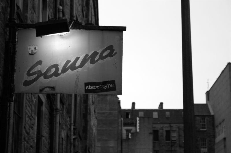 Sauna, Edinburgh, Scotland