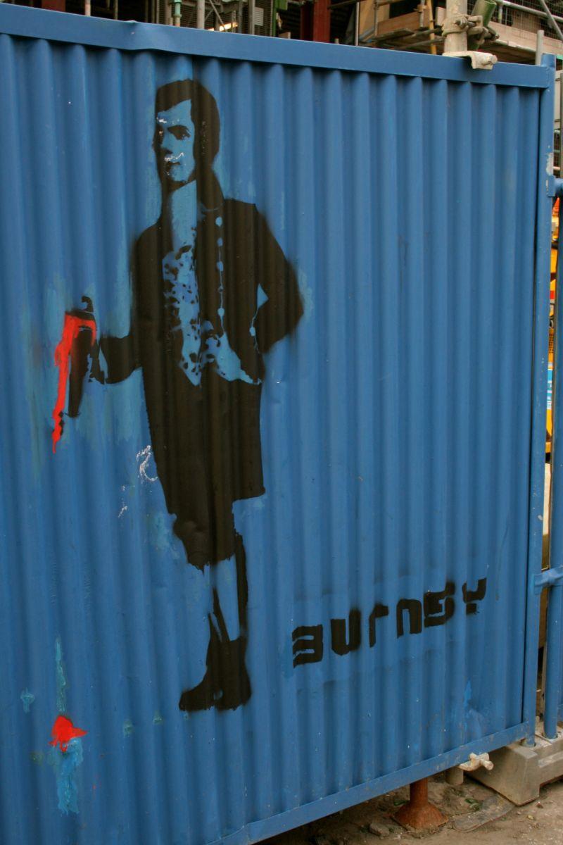 Robert Burns, Scotland, Edinburgh, Graffiti