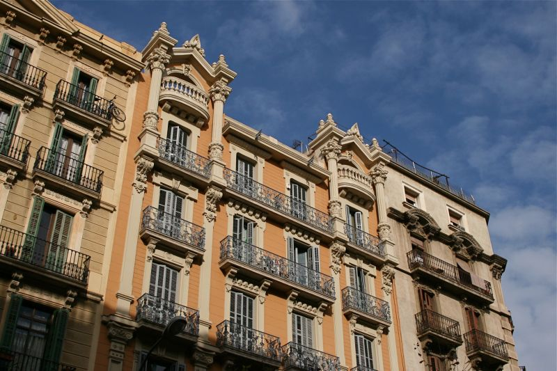 Barcelona, building architecture