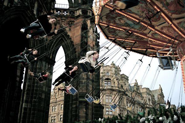 edinburgh, christmas, scotland travel
