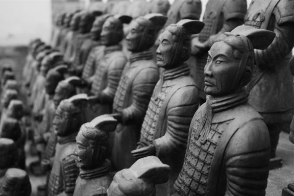 Terracotta Army, Xi'an, China, travel