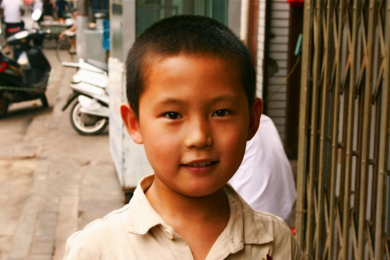 Xi'an, Muslim quarter, China, travel, boy