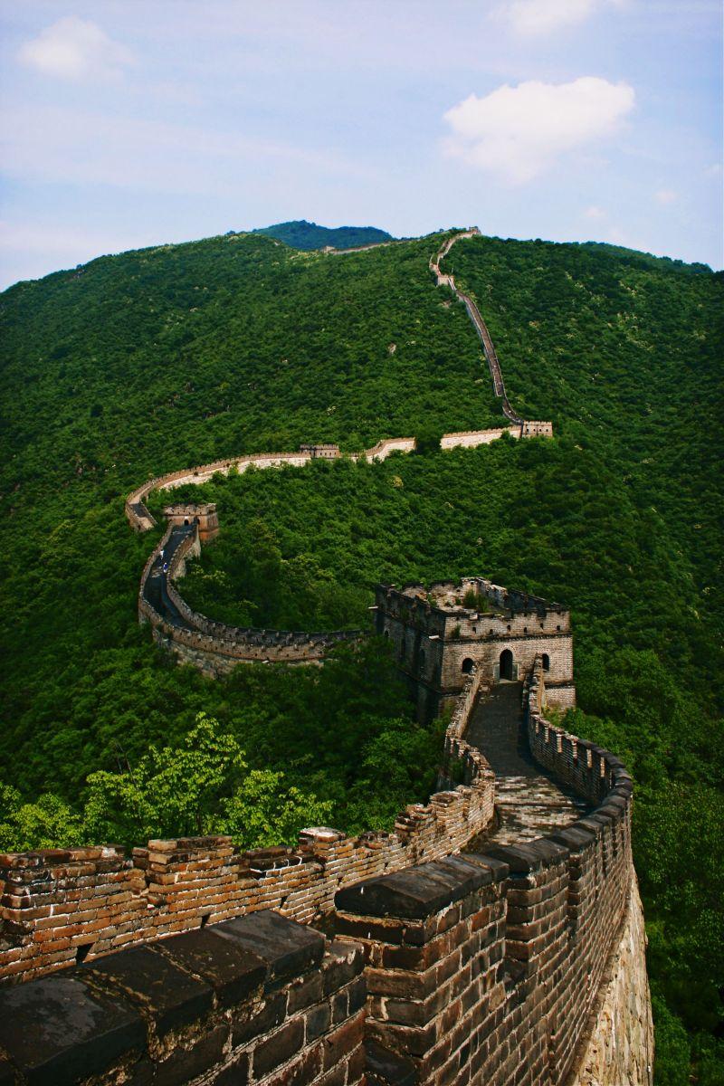 Great wall, China, travel